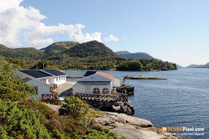 Das Gulen Dive Resort. Foto: Scubapixel/Christian Skauge