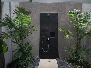 Die Dusche. Foto: Extra Divers