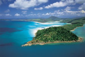016703Aerial of Hill Inlet & Whitehaven Beach, Whitsunday Island