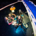 "Impressionen vom Schwarzwassertauchen vor Malapascua. Foto: Scott ""Gutsy"" Tuason"