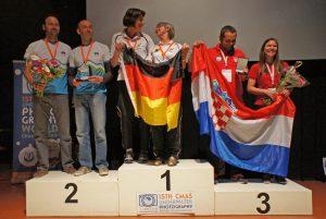 Die Siegerehrung. Foto: VDST, Arnd Winkler