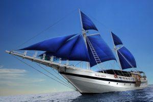 """Das Segelschiff """"Palau Siren"""" ist wieder zurück."""