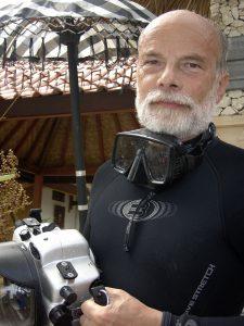 Der Profi-Unterwasser-Fotograf Werner Fiedler stellt seine Werke ab September 2015 im Meeresmuseum Stralsund aus.