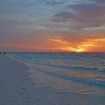 Darf nicht fehlen: das obligatorische Sonnenuntergangsfoto. Foto: H. Hoepfner