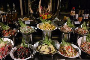 Große Auswahl am fantastischen Buffet (Foto: J. Jaerisch)