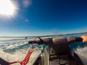 Jetski-Safari zur weltgrößten Sandinsel Fraser Island (Aquavue).