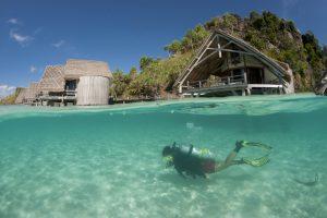 Das Meeresgebiet rund um das Misool Eco Resort wird seit 2005 vor der Überfischung geschützt.