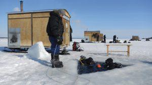 Arctic Circle Dive Center Russland MŠrz 2012