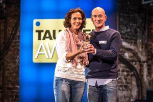 Sittika und Stefan Maier vom Manta Diving Center Madeira gewannen den TAUCHEN-Award bereits zum 8. Mal! ((Foto: Stefan von Stengel).