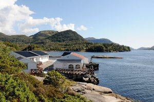 Das Gulen Dive Resort liegt an Norwegens Westküste nördlich von Bergen. Foto: C. Skauge