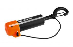 Praktisch: der Shaker von Scubapro
