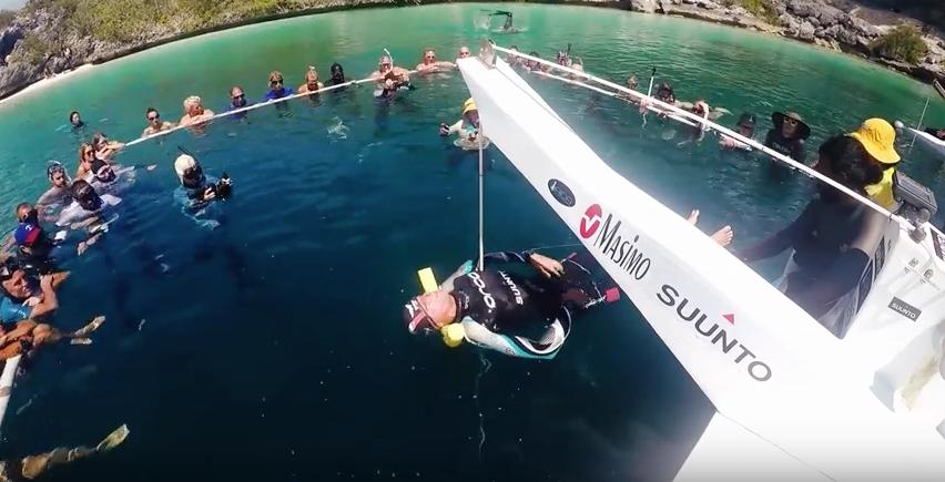 Der Weltrekord von William Trubridge brauchte akribische Vorbereitung. Foto: youtube.com/ VB Freediving
