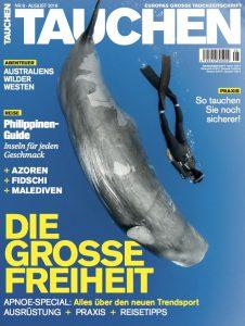 Die August-Ausgabe von TAUCHEN ist ab heute erhältlich – wahlweise in jedem guten Zeitschriftenhandel oder online in unserem TAUCHEN-Shop!