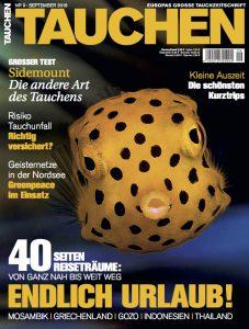 Endlich Urlaub! Neue September-Ausgabe ab sofort im Zeitschriftenhandel erhältlich!