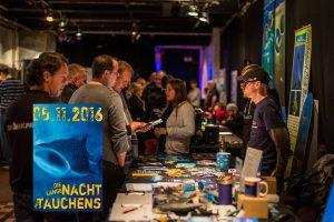 Tauchertreff mit Infotainment, Kultur und Party. Fotos: M. Beyer