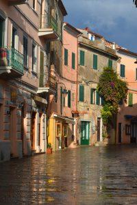 Kerstin Arold setzte die Altstadt von Capoliveri perfekt in Szene.