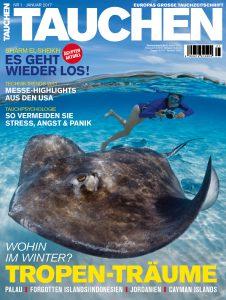 Die neue TAUCHEN Januar Ausgabe ist da!