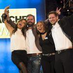 So sehen glückliche Gewinner aus! Foto: Stefan von Stengel