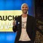 UW-Filmer Florian Fischer: Erstmals wurde auch der Mensch des Jahres gekürt. Foto: Stefan von Stengel
