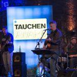 Musikalisch untermalt wurde der Abend von der Band Zig Zag. Foto: Stefan von Stengel