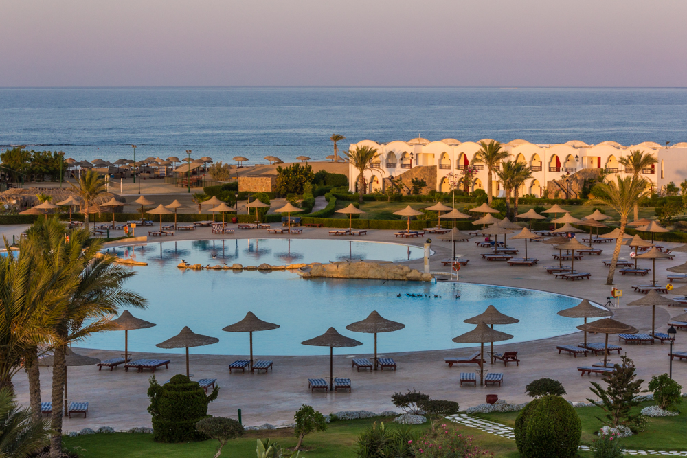 Luxus pur: Das Gorgonia Beach Resort in Marsa Alam. Foto: Manfred Bortoli/www.ideavideo.it