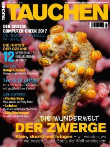 Die Wunderwelt der Zwerge: In der aktuellen TAUCHEN dreht sich einiges um die faszinierenden Kleinstlebewesen Critter.