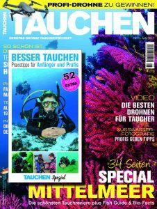 Die TAUCHEN-Mai-Ausgabe 2017.