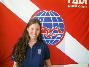 Regional Training Consultant Julia Wratschko. Foto: PADI