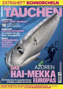 Die aktuelle Tauchen Magazin 08 2017.