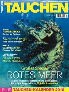 Cover der TAUCHEN 12/17