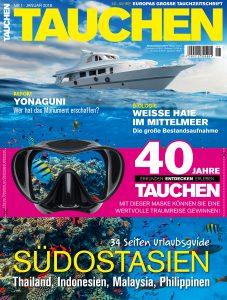 Cover der TAUCHEN 1/18
