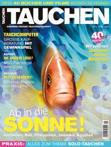 Das Cover der TAUCHEN 4/18