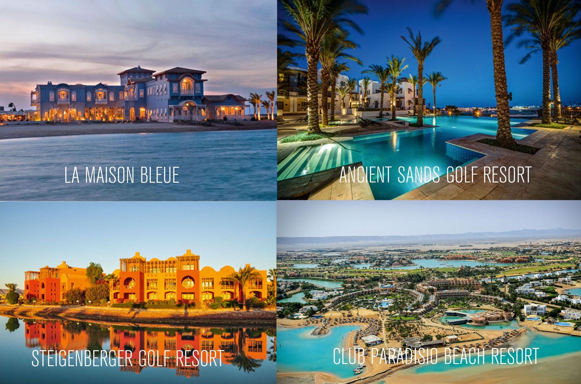 Fotos der Hotels in el gouna