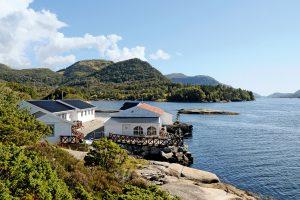 Gulen Dive Resort an der Küste Norwegens