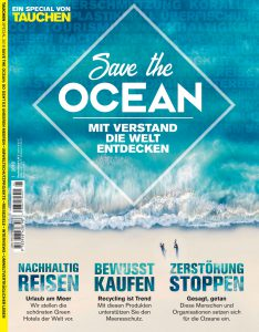 """Titel der """"Save the ocean""""-Ausgabe"""