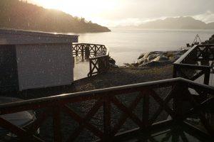 Sonne, Regen, Hagel - manchmal sogar alles gleichzeitig! Foto: Reno Büssow