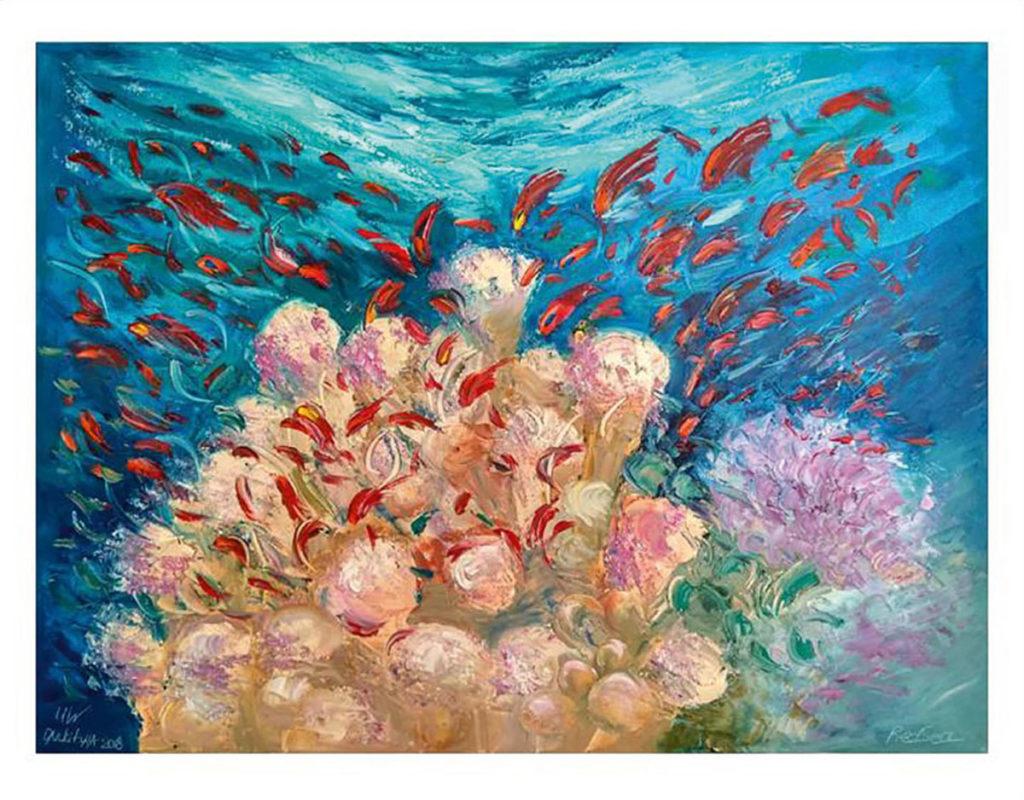 Fortgeschrittene wagen sich an Korallenblöcke, an denen die gesamte Fauna des Roten Meeres in seiner Farbenpracht zu sehen ist.