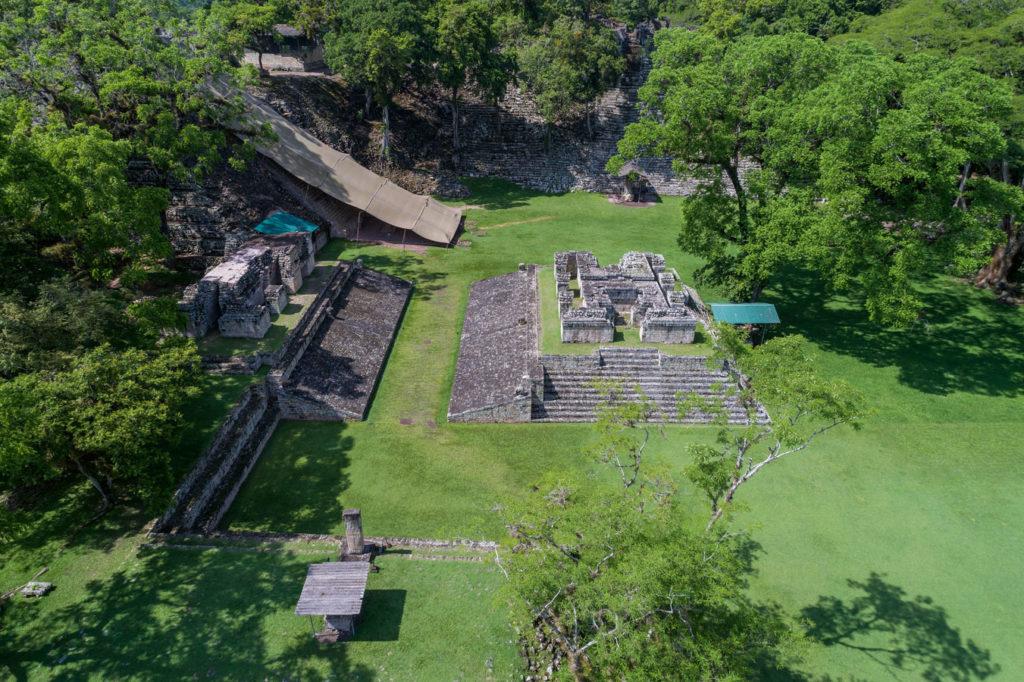 Während der Festlandstour werden auch die Ruinen der Maya-Stadt Copán besucht. Foto: W. Pölzer