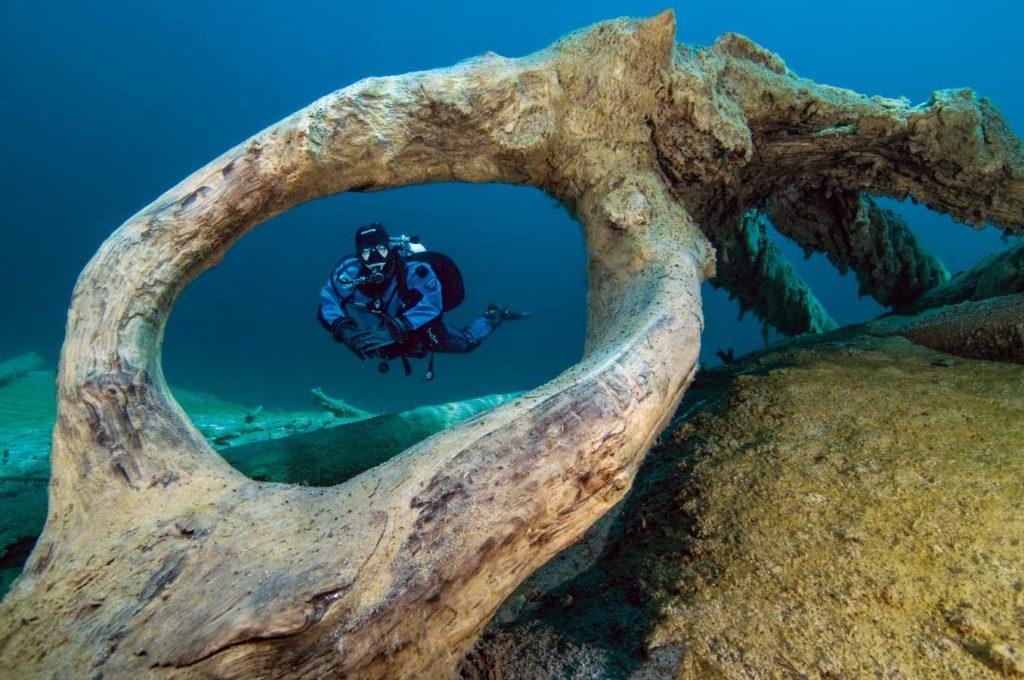 Der Fernstein- und der benachbarte Samaranger See stecken voller eindrucksvoller Motive für UW-Fotografen. Foto: G. Nowak