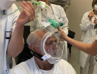 Schnorchelmasken helfen im Kampf gegen Corona