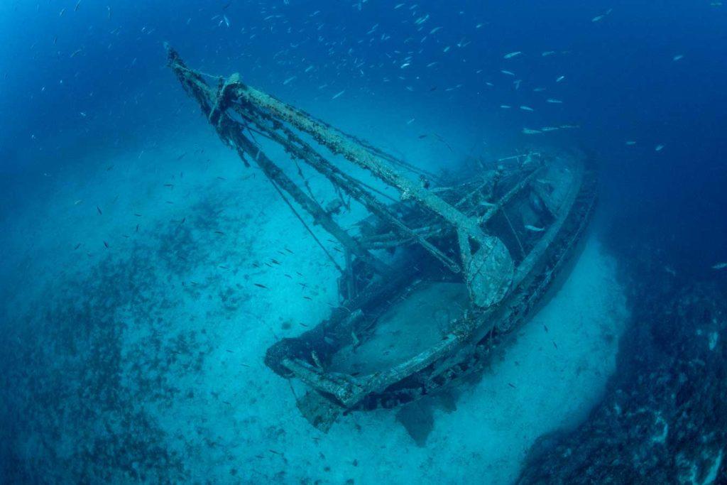 """Die """"Fortunal"""" sank auf ihrem Rückweg zum Hafen. Foto: F. Banfi"""