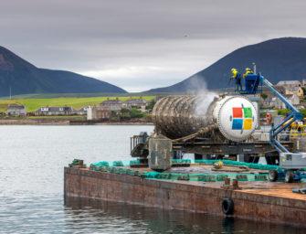 Das Unterwasser-Datenzentrum von Microsoft