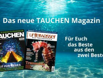 Das neue TAUCHEN Magazin