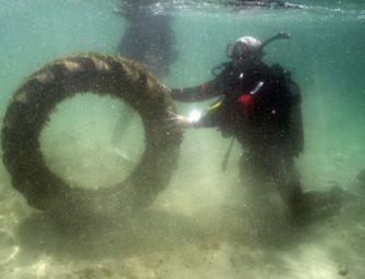 Unterwasser-CleanUp in Kroatien