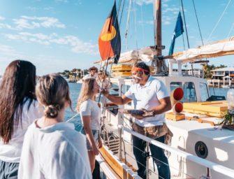 Neue Segel-Tour mit Aborigines