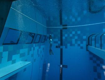 Tiefstes Indoor-Tauchbecken der Welt eröffnet