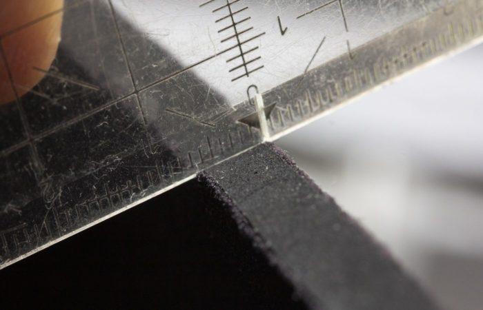 Die Haube ist im Lieferumfang enthalten. Sie ist sieben Millimeter dick.