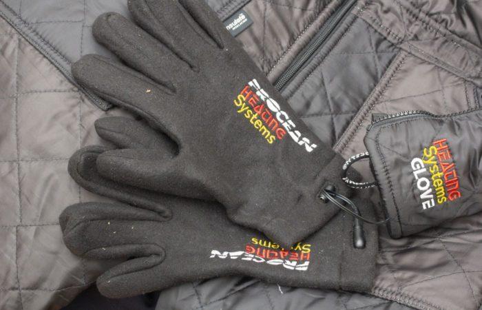 Die beheizten Innenhandschuhe sorgen in diesem Zeitraum für warme Hände. Sie können separat hinzu geschaltet werden.