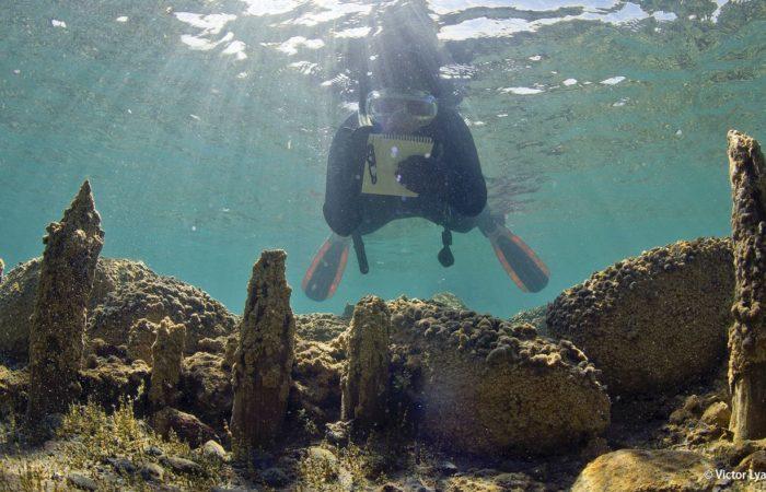 Kristin Romney, die Leiterin der Feldforschung des Issyk-Kul-Projekts, dokumentiert die Ausgrabung. Sie war bereits an vielen internationalen Ausgrabungen beteiligt: Von byzantinischen Schiffswracks bis zu Maya-Fundstätten in mexikanischen Cenoten.