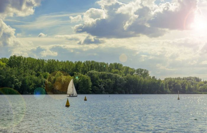Tauchen im Kulkwitzer See